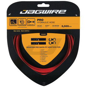 Jagwire Pro Hydraulic Brake Hose, red